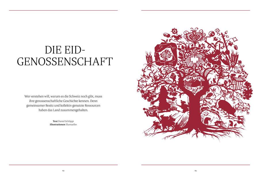 NZZ Geschichte, Die Eid-Genossenschaft, Seite 1