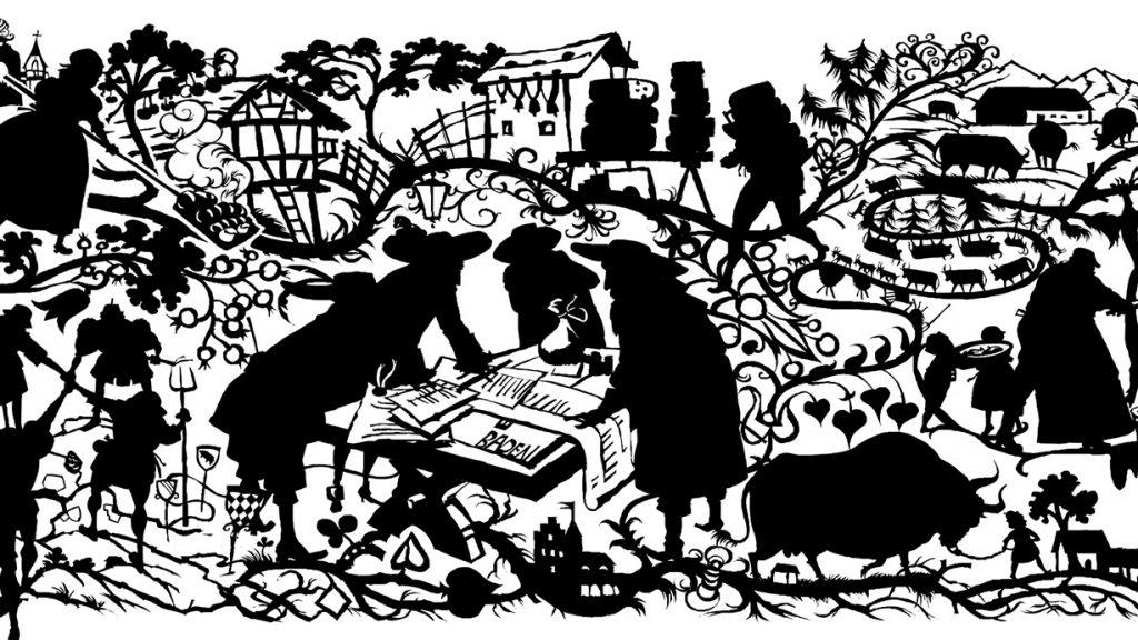 NZZ Geschichte, Die Eid-Genossenschaft, Beitragsbild