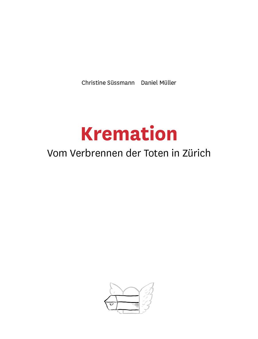Kremation, Umschlag