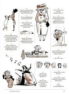 Illustration für «Der Spiegel –Biografie», 1/2016