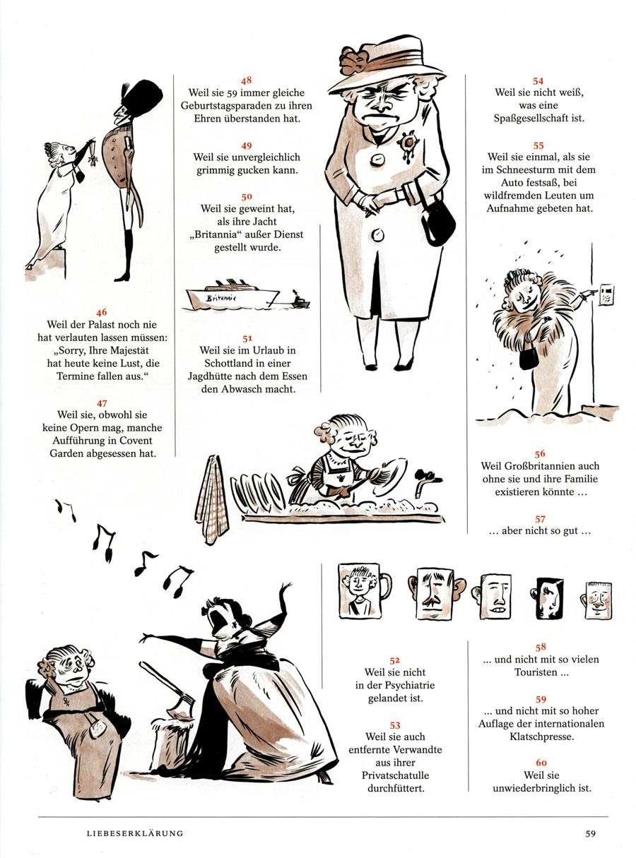 «Der Spiegel –Biografie», die Queen