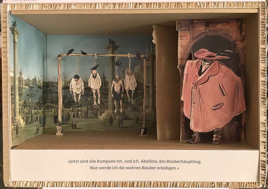 Stadtmuseum Aarau, Die Mär vom Räuber Abellino