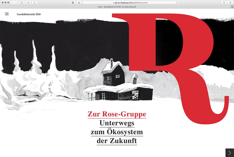 «Zur Rose-Gruppe» Geschäftsbericht 2018